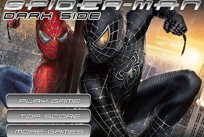 Spiderman Dark Side Game   Spiderman games   Games Loon Spiderman Dark Side Game