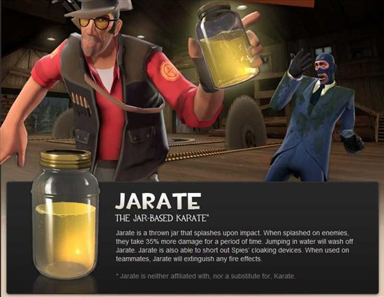 Jarate Is The New Way To Fight For Snipers In Team
