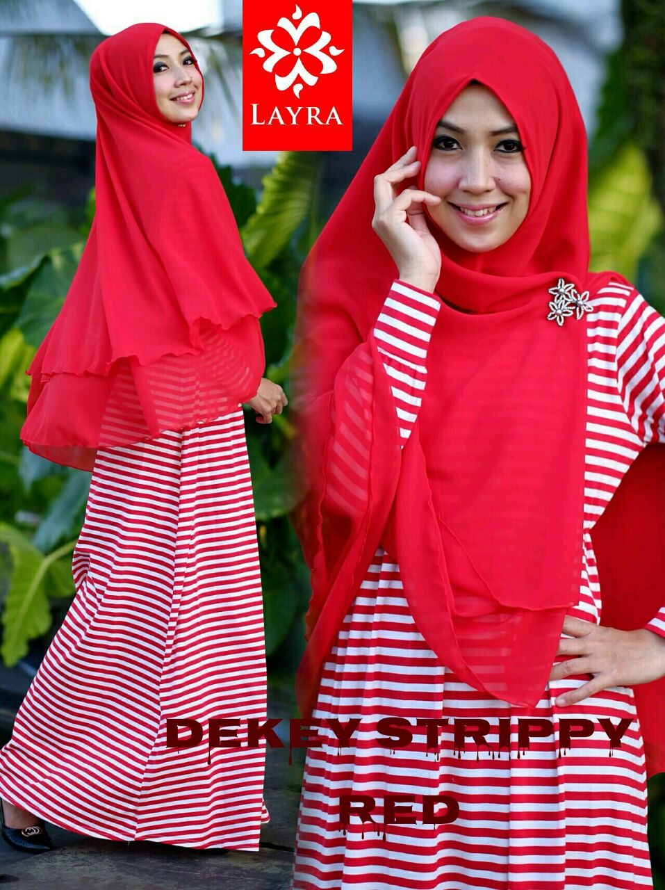 Image Result For Model Gamis Terbaru Motif Garis