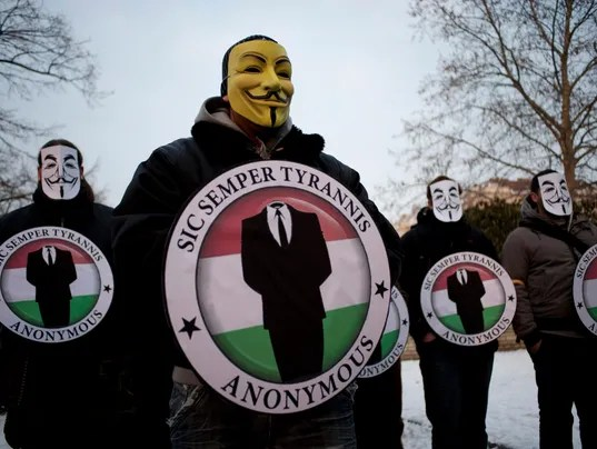 Who or what is the hacktivist group Anonymous?