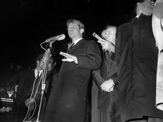 Read Robert Kennedy's speech he gave on Martin Luther King ...