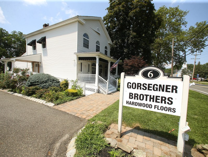 Holmdel s Gorsegner Brothers spotlights need for trades Gorsegner Brothers Hardwood Floors showing off its