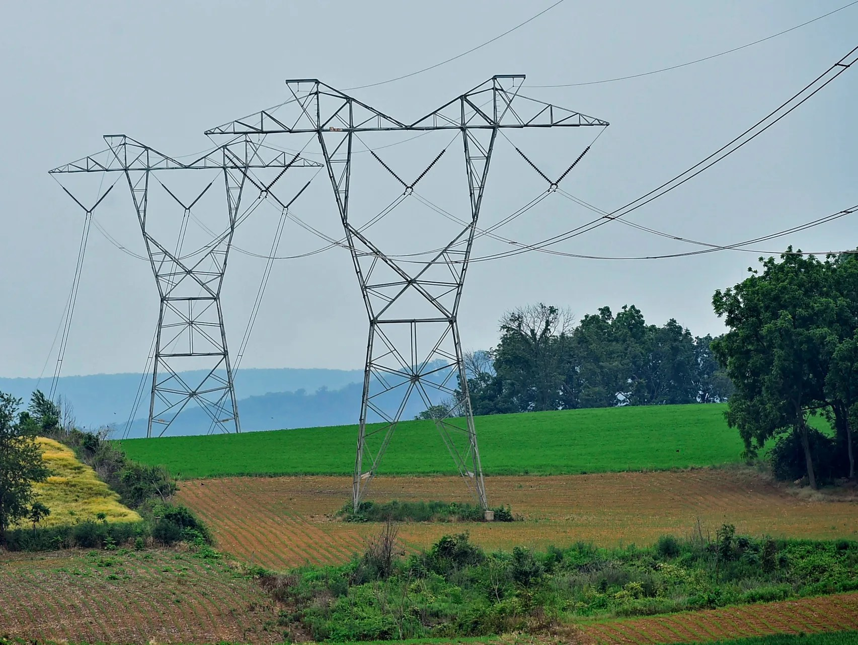 Transmission Towers Holtwood Pa