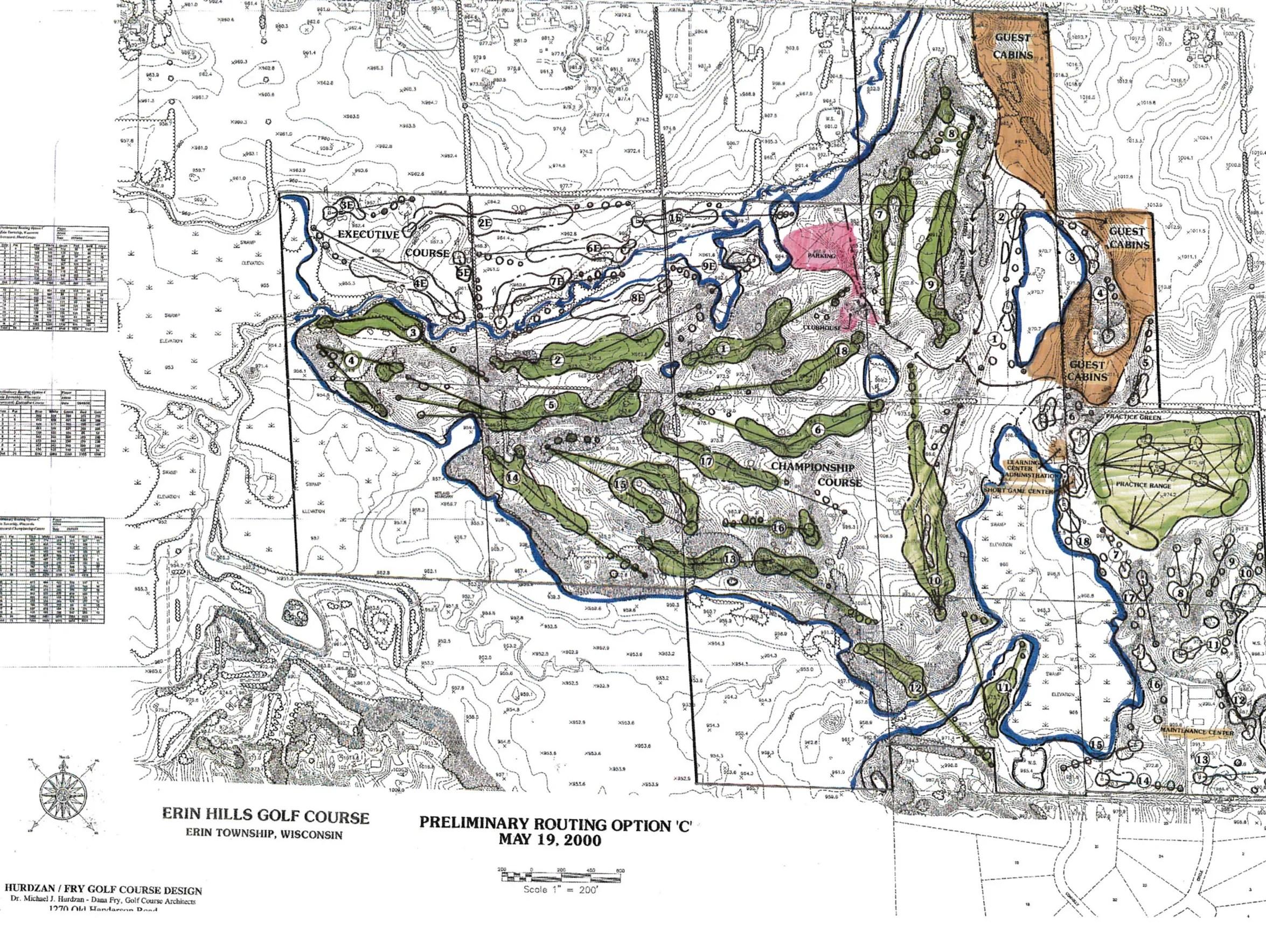 Erin Wisconsin Map Hills