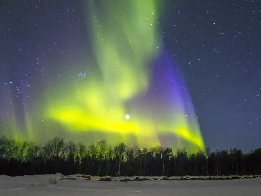Northern Light Prediction