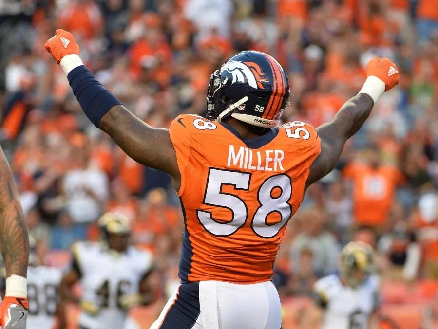 Denver Broncos Yard Inflatable