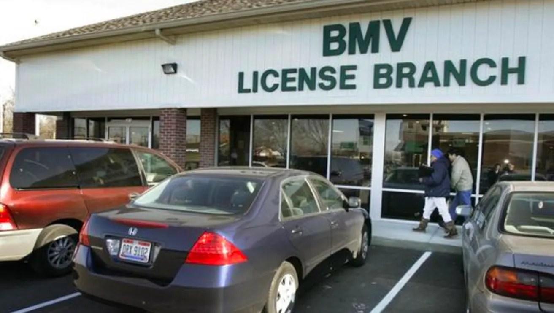 License Plate Ohio Blank