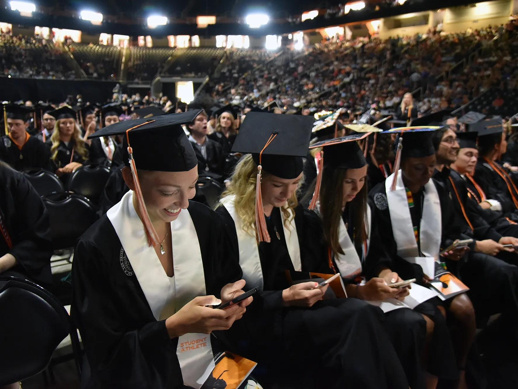 Thompson Boling Arena Graduation