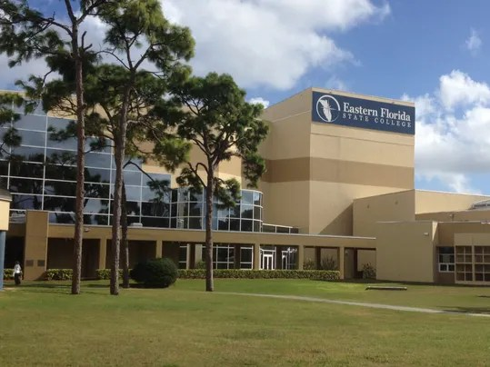 Eastern Florida State College Map.Eastern Florida State College Melbourne Campus Map