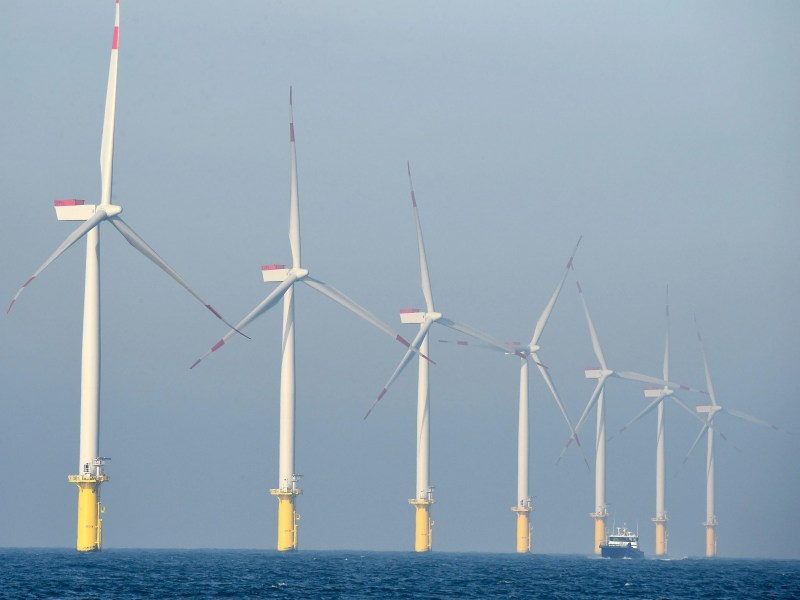 Offshore wind  NJ plans to add clean energy subsidy to electric bills AFP 547657602 I ERS ATE DEU SC