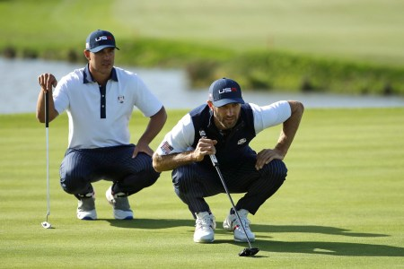 Brooks Koepka on rumored fight with DJ   There was no fight  2018 10 3 koepka dj  Dustin Johnson