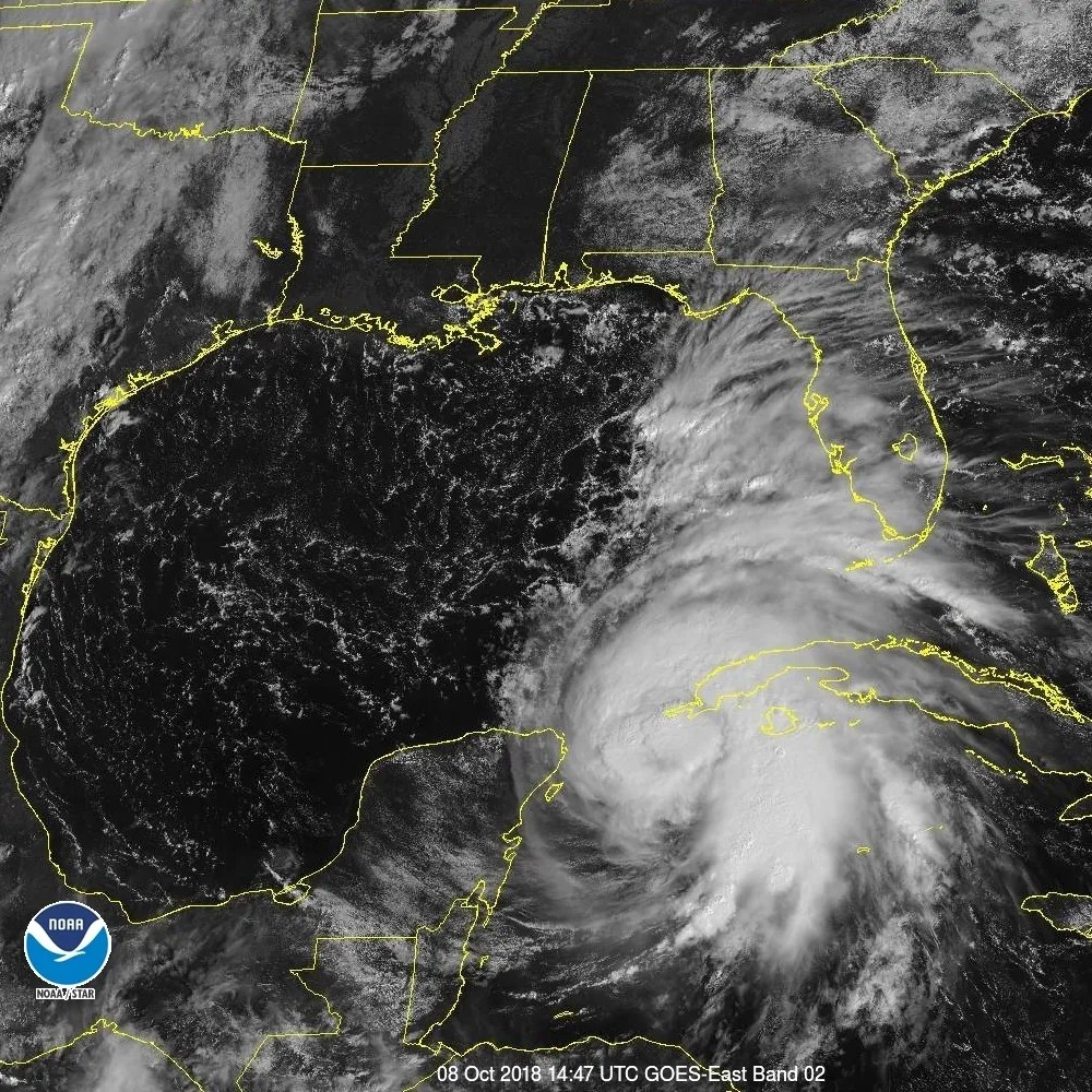 Mayor Andrew Gillum  As Michael approaches residents should consider A satellite view of Hurricane Michael