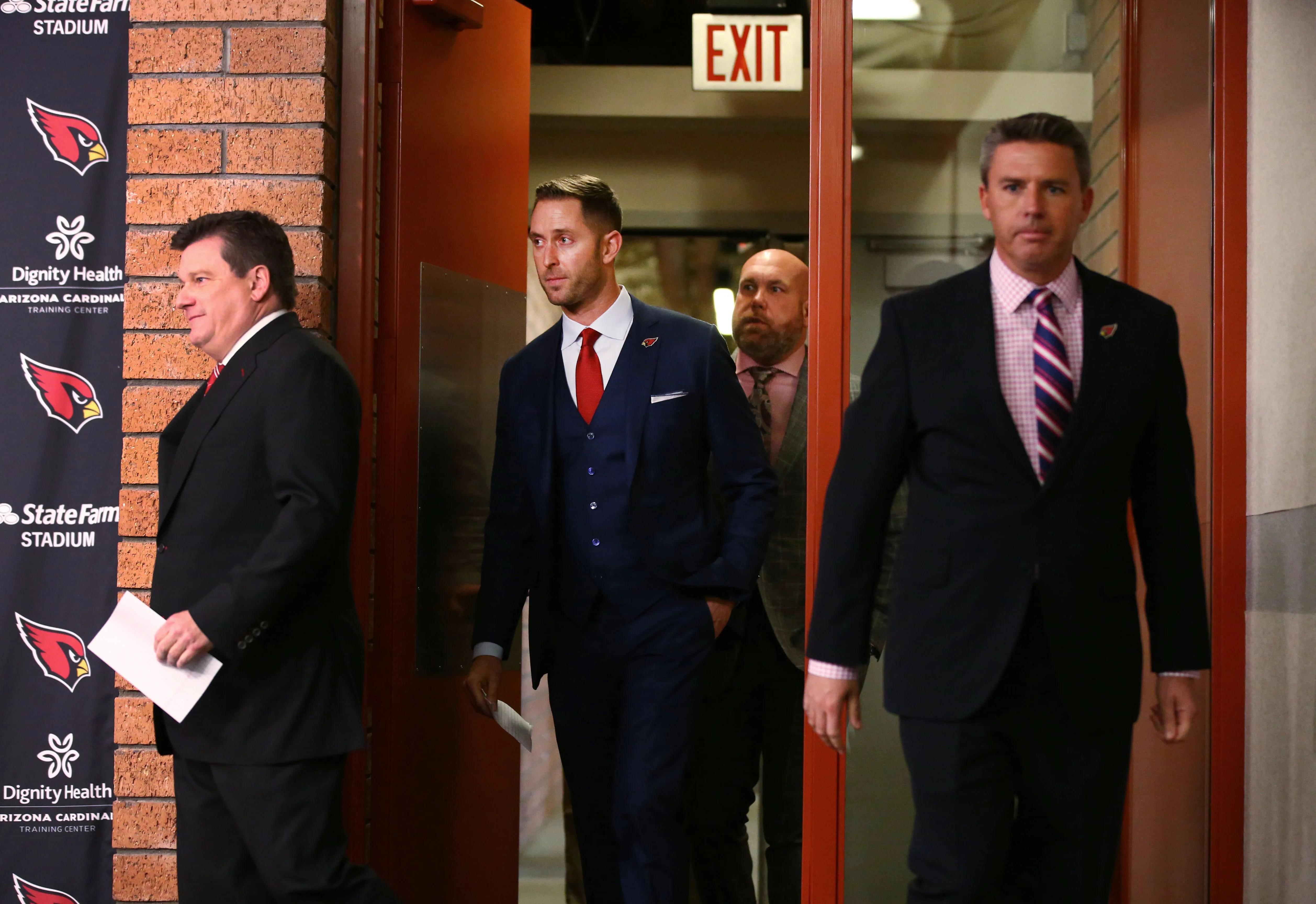 Kliff Kingsbury, Arizona Cardinals coaching staff ...