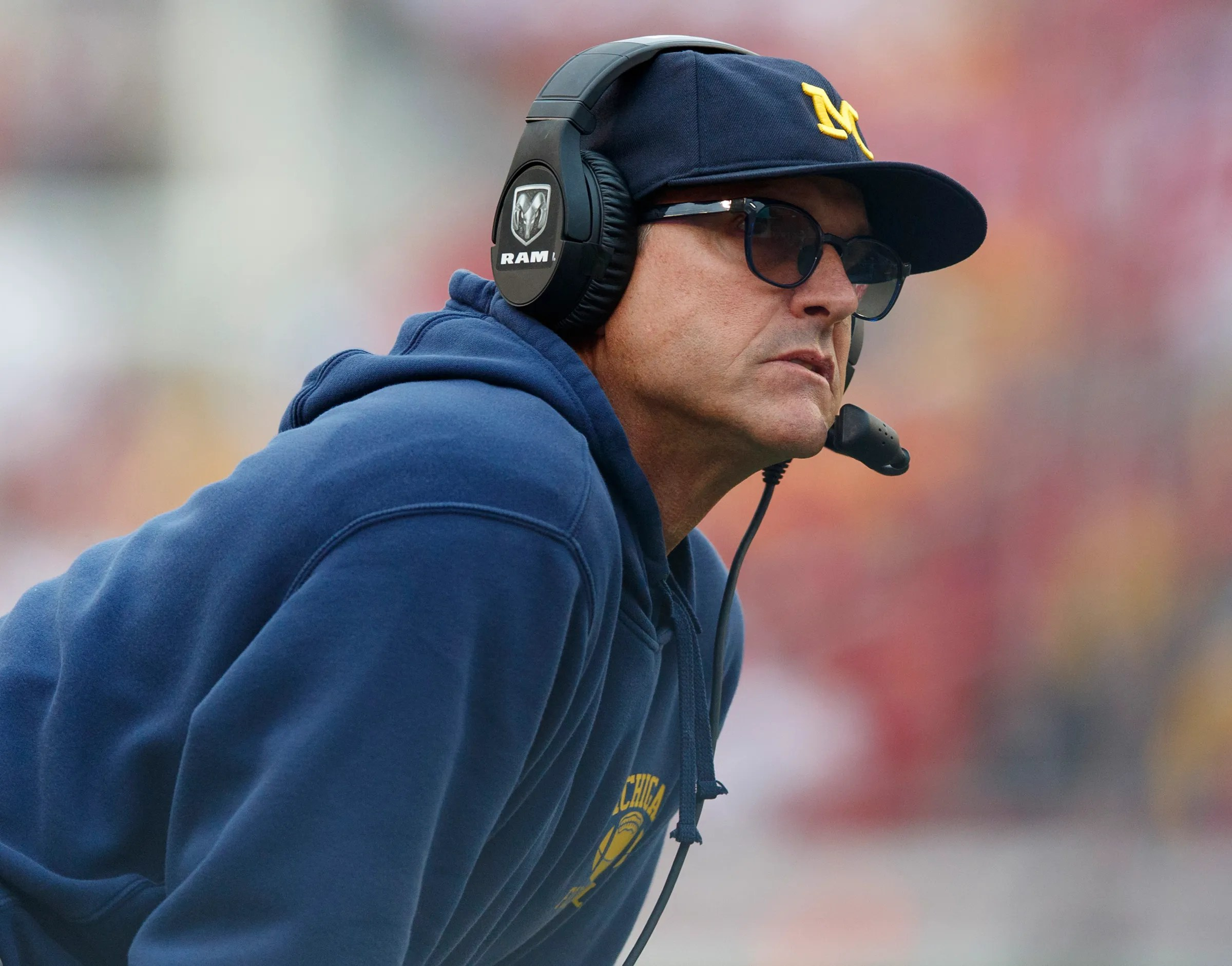 Jim Harbaugh got crushed by social media after Michigan ...