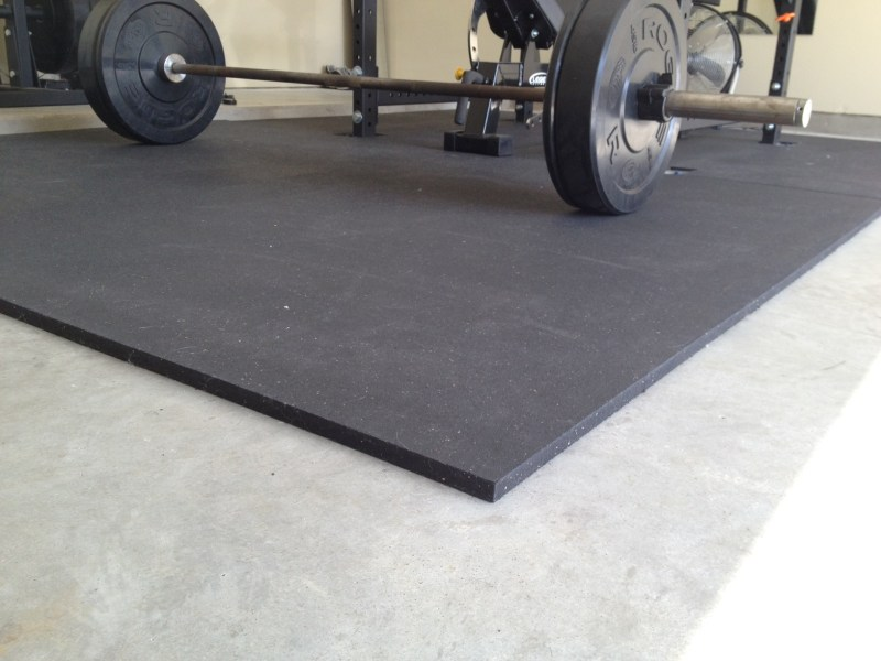 Garage Gym Flooring   Protect your Equipment and Foundation rubber gym mats for my garage gym flooring