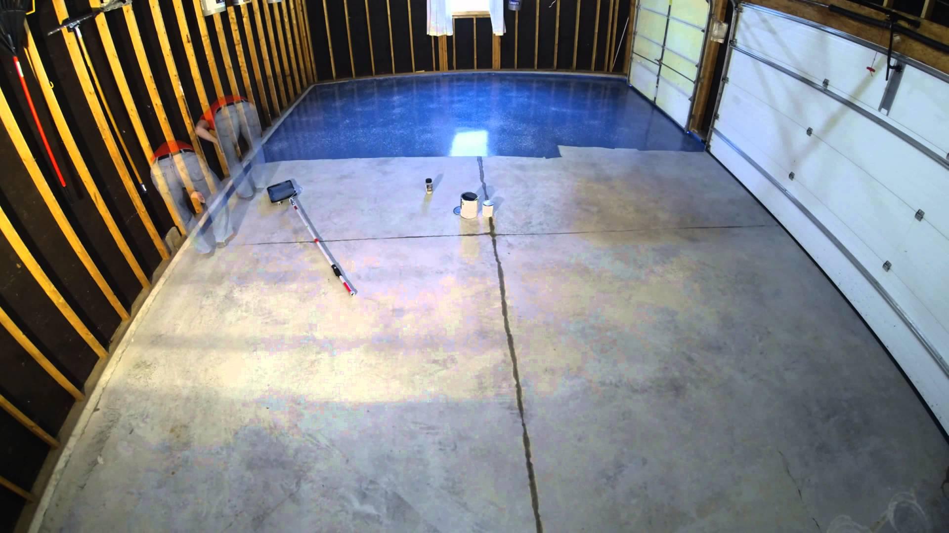 Step 9 Garage Floor