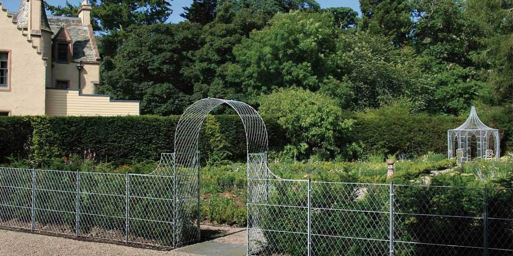 Zinc Garden Planters