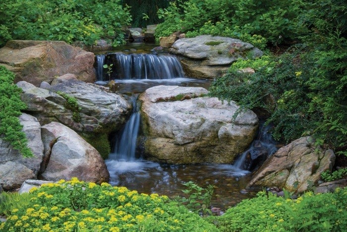 Waterfall Features Ponds