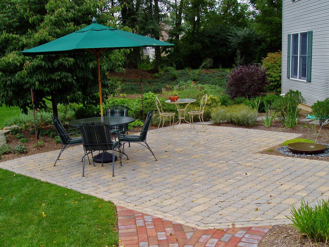 How much does a Paver Patio Cost   Garden Design Inc  paver patio
