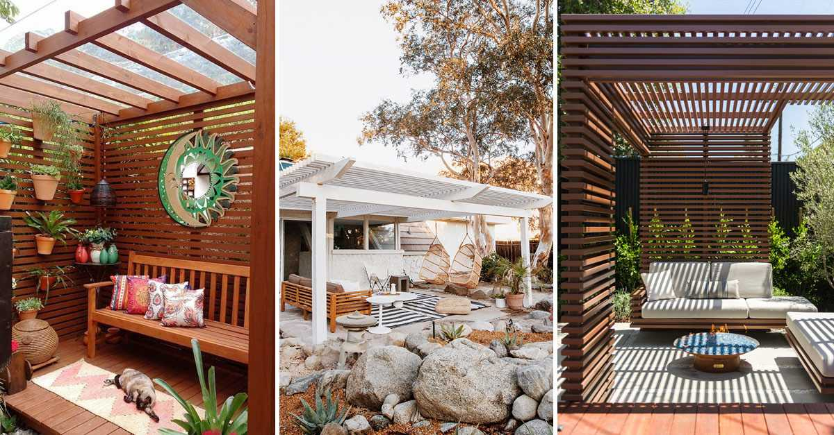50 Beautiful Pergola Design Ideas For Your Backyard