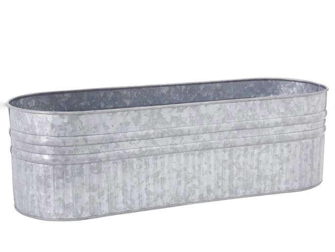 Galvanized Metal Planter Box