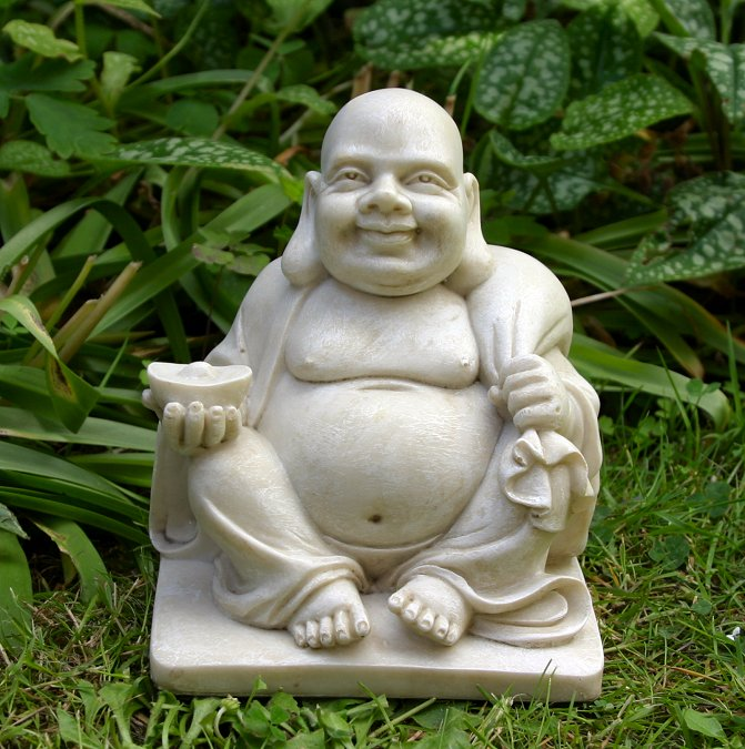 Theirs bellies bigger than Buddha's, a bunch of born ...