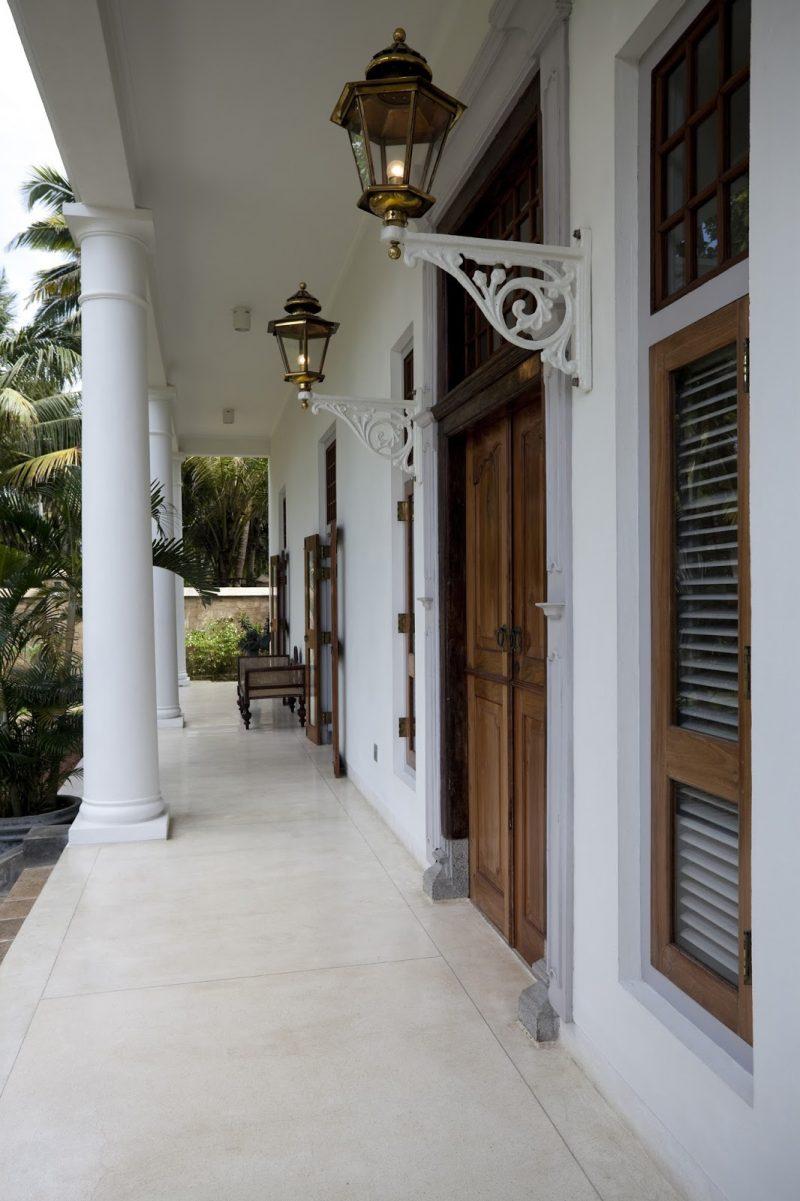 Tiled Front Porch