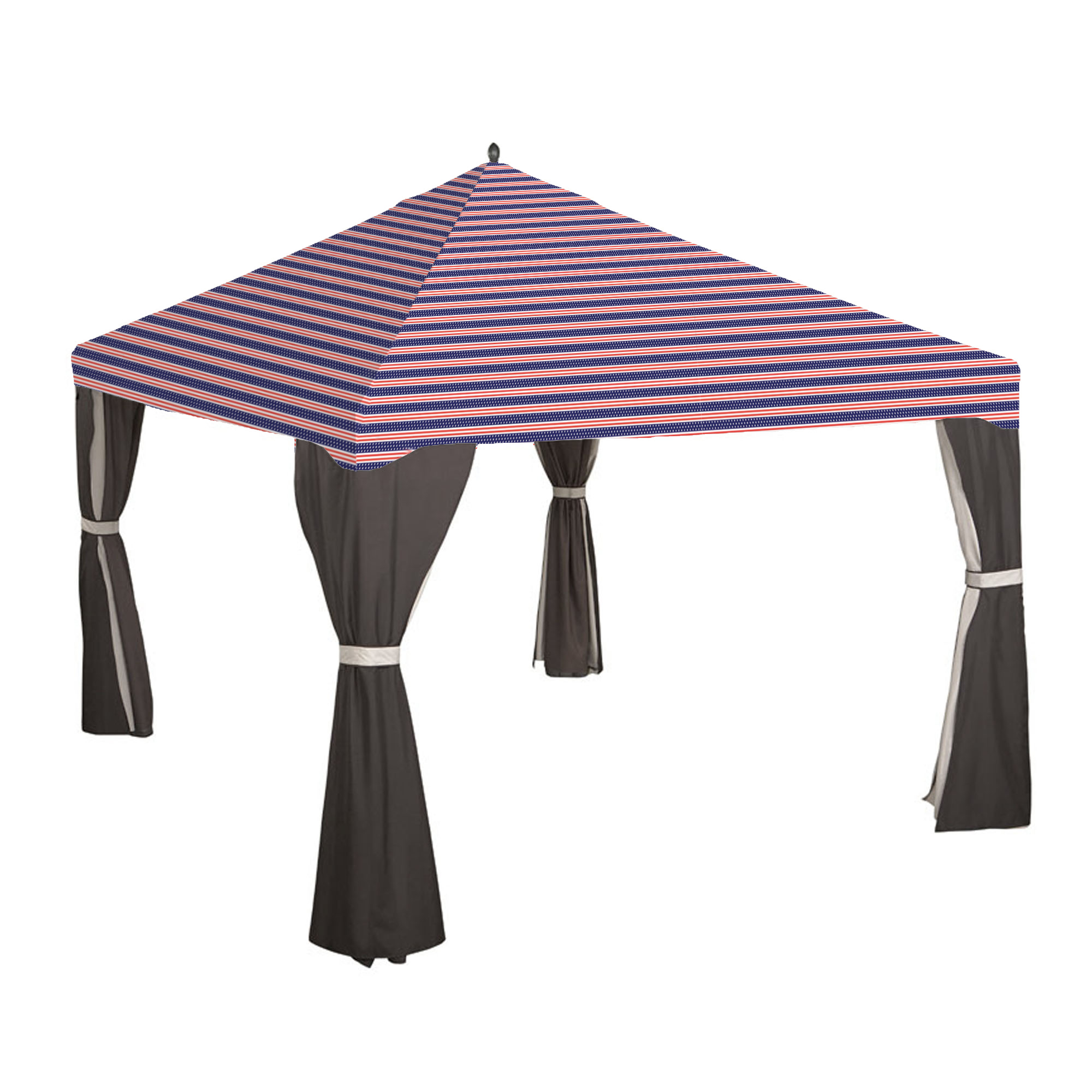 Lowes 10 X 12 Gazebo Replacement Canopy 8 Bar Garden Winds