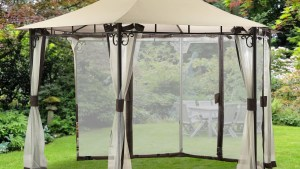 Replacement Canopy And Netting For Ridge Top Gazebo