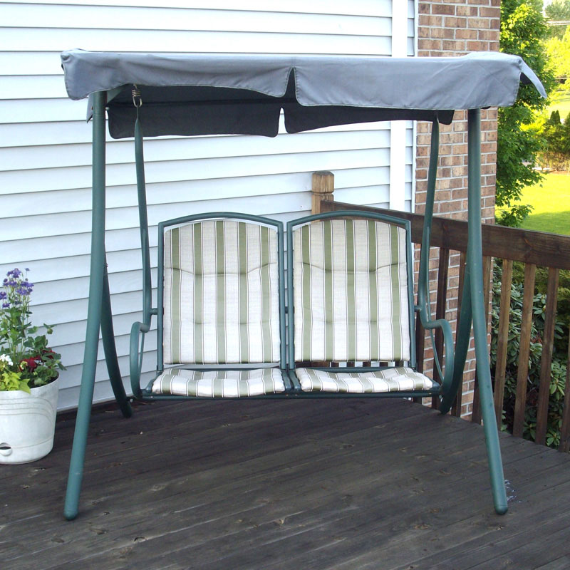 Walmart 2 Seater Rus4860 Replacement Swing Canopy Garden Winds
