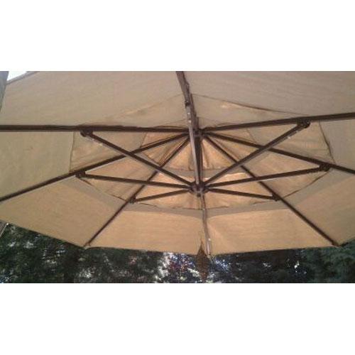 Costco Round Cantilever Umbrella Replacement Canopy Garden