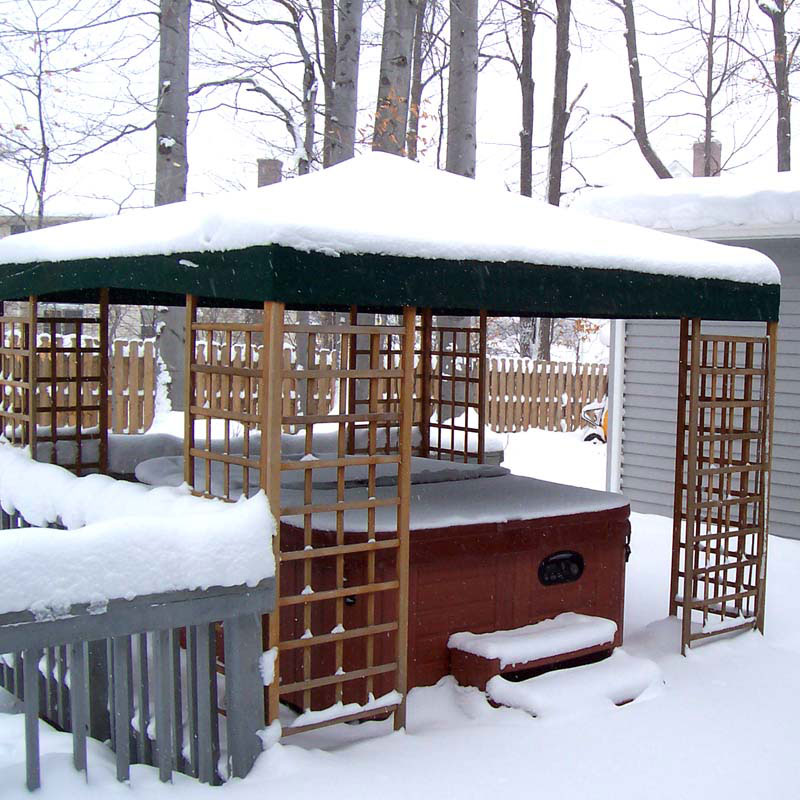 Sam S Club 12 X 12 Wood Gazebo Garden Winds