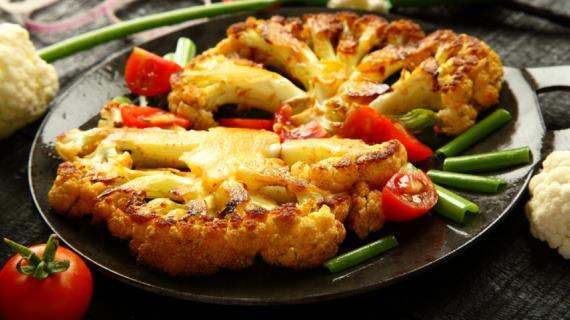 Nejchutnější recept, jak vařit květák s ostrým krustem - květák v obilí ...