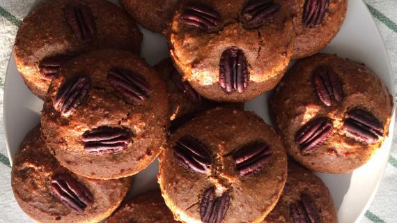 Cookie de protéines avec citrouille