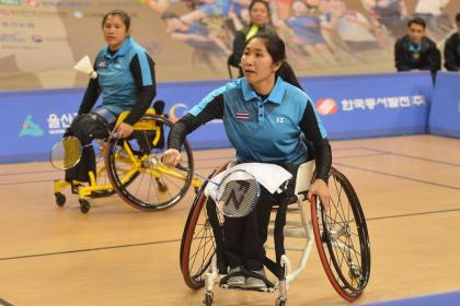 THAILAND – SPORTS: Cash for Thai badminton on the Paralympic Video games