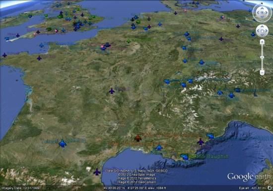 Street View in Flight - Google Earth Blog