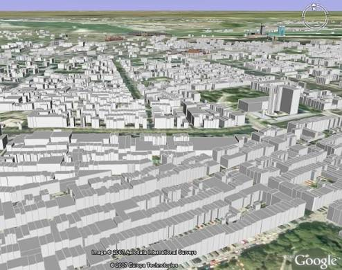 Google Earth Blog  Mayo 2007 Archivos Amsterdam 3D Buildings in Google Earth
