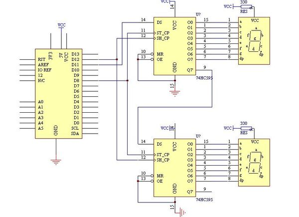 Verilog Counter 2 Bit Code