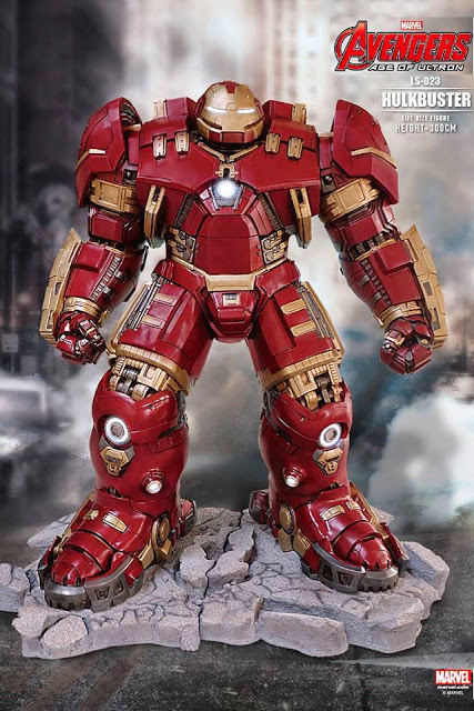 Iron Man Hulk Buster 1:1 Scale Life-Size Light-Up Statue