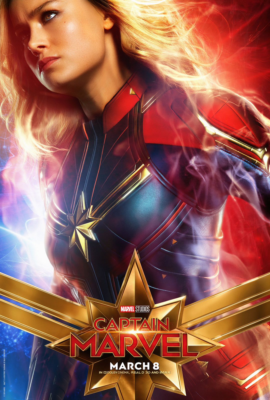 Marvel Studios Captain Marvel Super Bowl Trailer