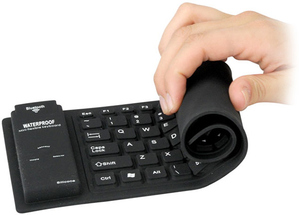 Portable Flexible Silicone Keyboard
