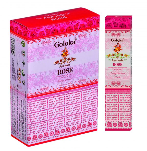 Incenso Goloka - Rose-0