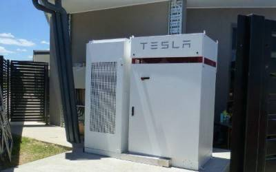 Australia's first Tesla Powerpack 1.5 installed at a school