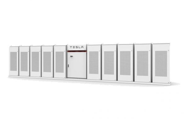 Tesla Powerpack scalable design