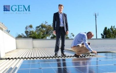 GEM Energy's large-scale commercial solar installation for Industria REIT reaches 75% completion mark