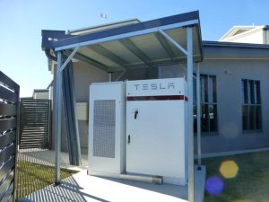 Australia's first installed TESLA Powerpack at a school at The Cathedral College Rockhampton
