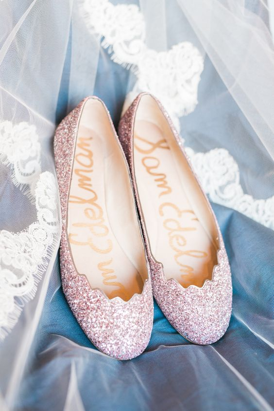 Ivory Wedding Wedges