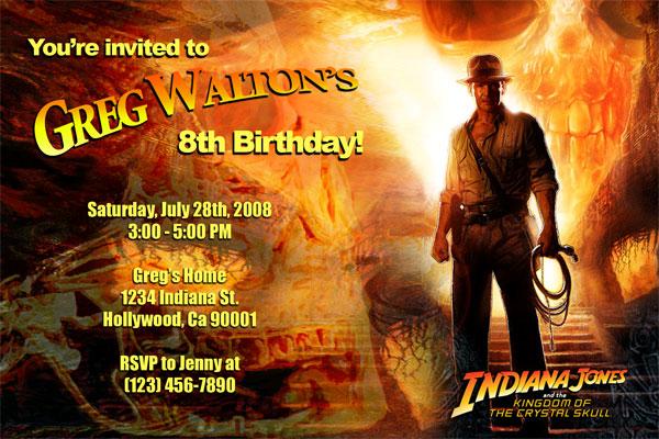 Card Invitation Birthday Party