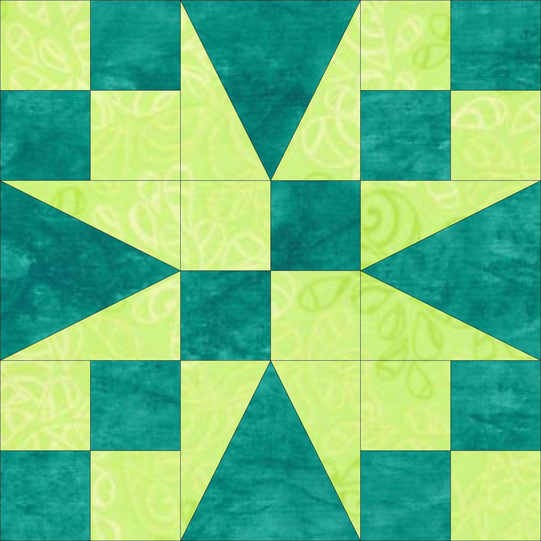Twisted Star Quilt Pattern : twisted star quilt block - Adamdwight.com