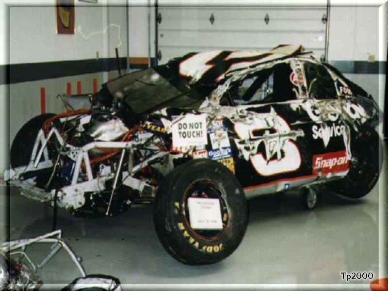Inside Dale Earnhardt Car After Crash   www.imgarcade.com ...Dale Earnhardt Bloody Car